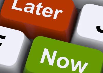 procrastination csp